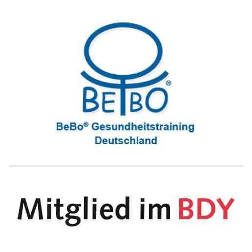BeBo Gesundheitstraining Deutschland und Mitglied im BDY